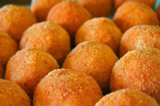 Le arancine e gli arancioni di Sicilia