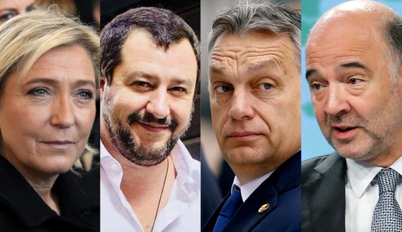 """La UE, la """"cosa sovranista"""" e la schizofrenia di Salvini"""