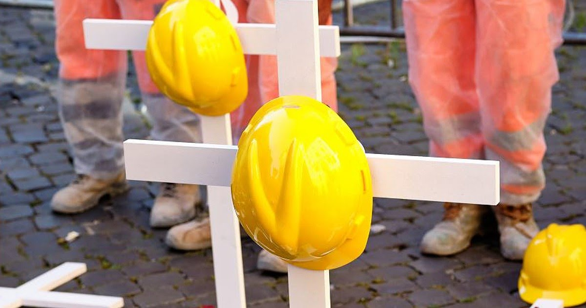 Incidenti sul lavoro, emergenza senza fine